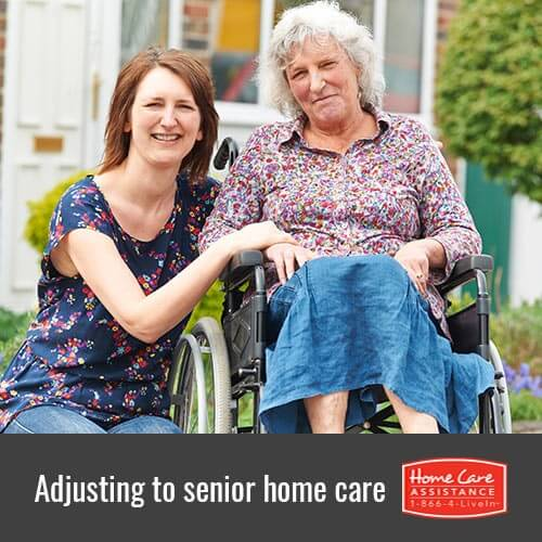 Tips to Help Your Elderly Loved One Adapt to In-Home Care