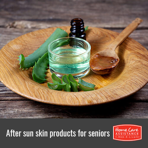 After Sun Skin Care Products for Seniors